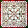 Bed of Roses Block of the Month - Starts July 1, 2017 - Fabric & Pattern - Registration Closed