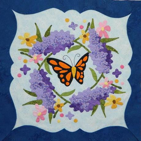 To Everything There Is A Season - February - Butterfly and Lilac Paper Pattern