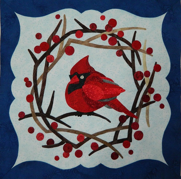 To Everything There Is A Season - January - Cardinal Paper Pattern