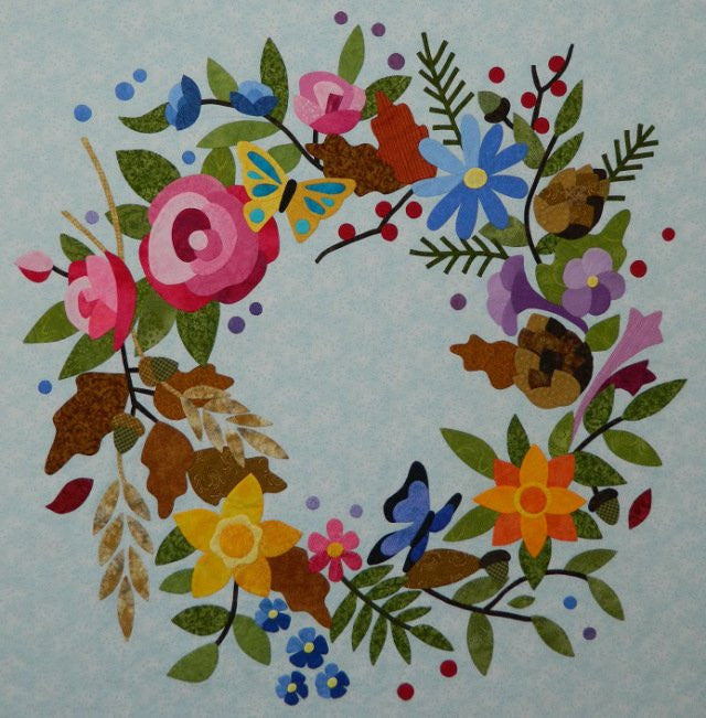 To Everything There Is A Season - Centre Wreath Paper Pattern