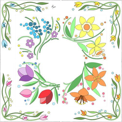 Peggy's Puzzle Border - Free Digital Download