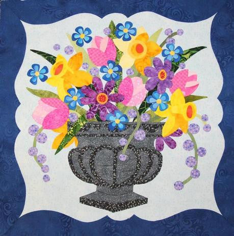 To Everything There Is A Season - April - Spring Urn Paper Pattern
