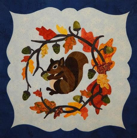 To Everything There Is A Season - September - Squirrel Paper Pattern
