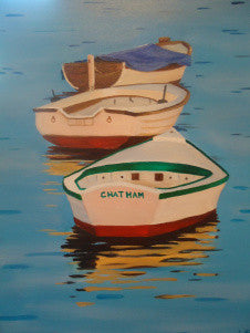 Chatham Dinghy's - Artwork of Lynn Ricci