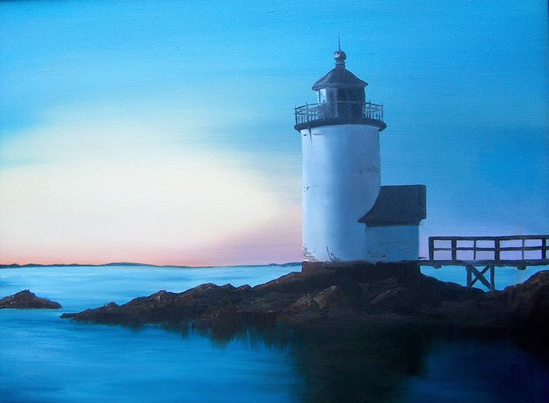 Annisquam Lighthouse - Artwork of Lynn Ricci