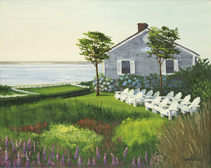 Giclee of Chatham Morning Sun at CBI - Artwork of Lynn Ricci