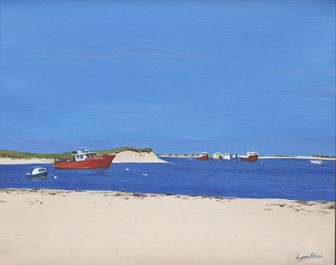 Giclee of Chatham Bars Inn Private Beach