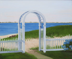 Chatham Bars Inn Arbor - Private collection - Artwork of Lynn Ricci