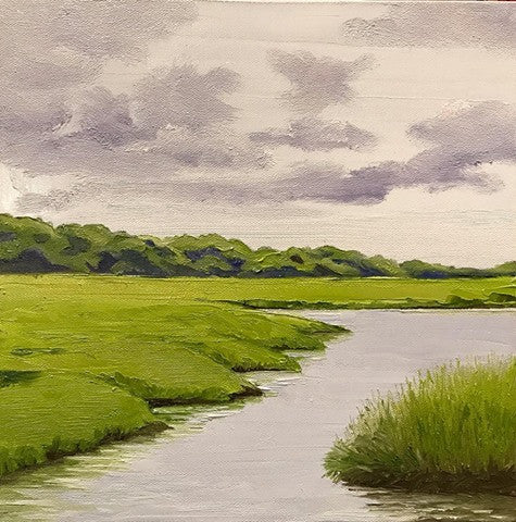 Marsh Before the Rain - Artwork of Lynn Ricci