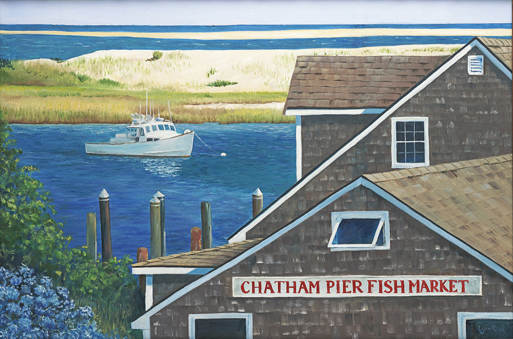 Chatham Fish Pier - Artwork of Lynn Ricci