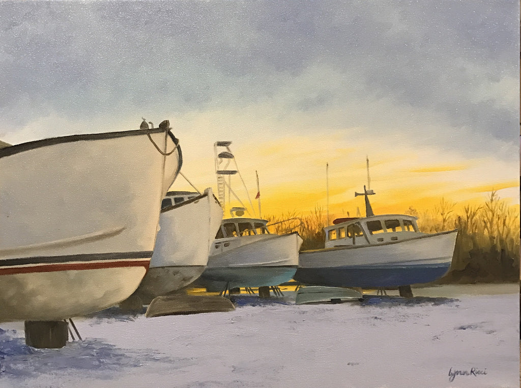 Waiting for Summer - Artwork of Lynn Ricci