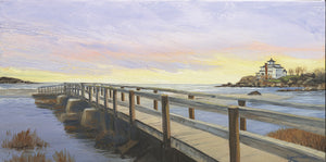 Giclee of Good Harbor Beach - Artwork of Lynn Ricci