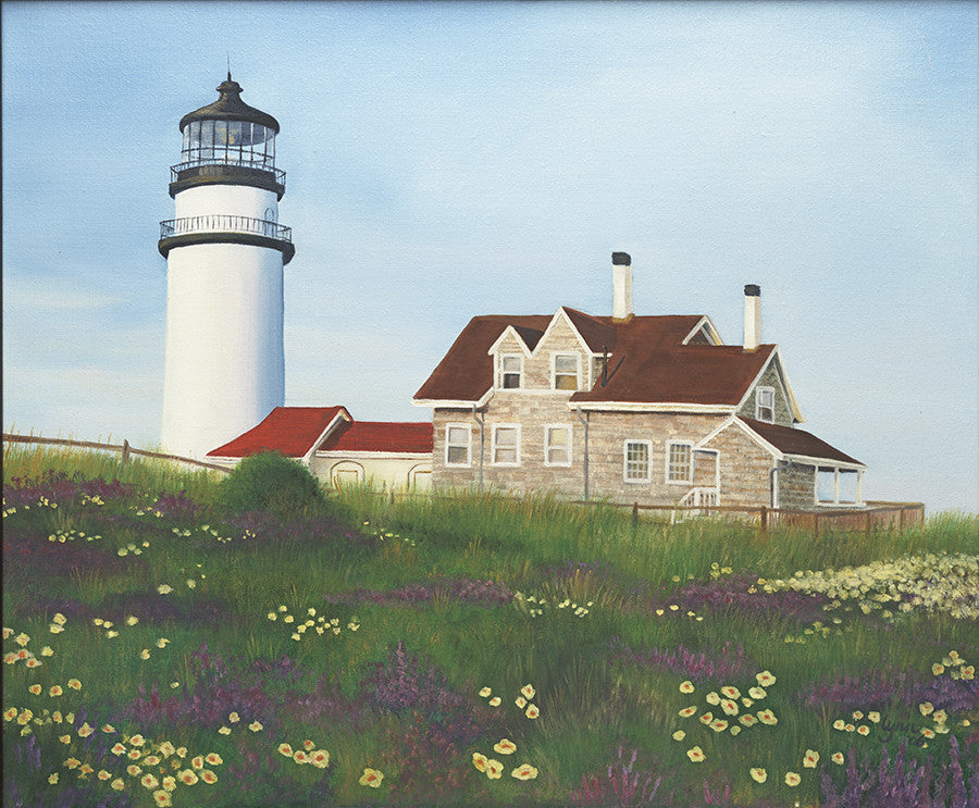 Highland Light, Truro - Artwork of Lynn Ricci