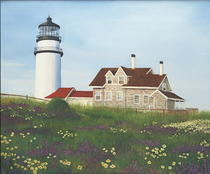 Giclee of Highland Light, Truro - Artwork of Lynn Ricci