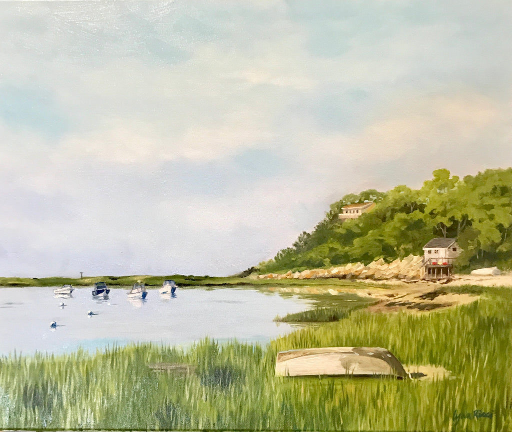 Oyster River Morning - Artwork of Lynn Ricci