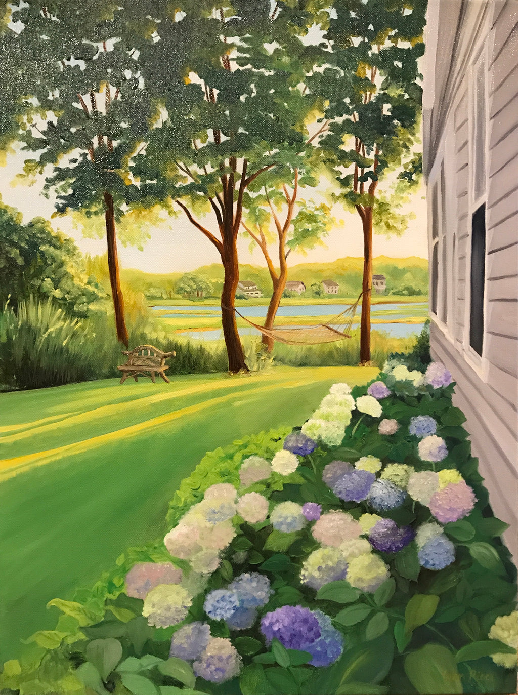 A Slice of Paradise - Artwork of Lynn Ricci