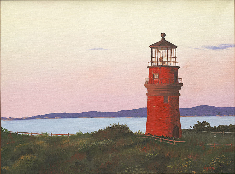 Gay Head Light, Martha's Vineyard - Artwork of Lynn Ricci
