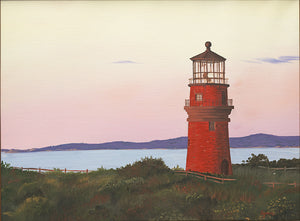 Giclee of Gay Head Lighthouse - Artwork of Lynn Ricci