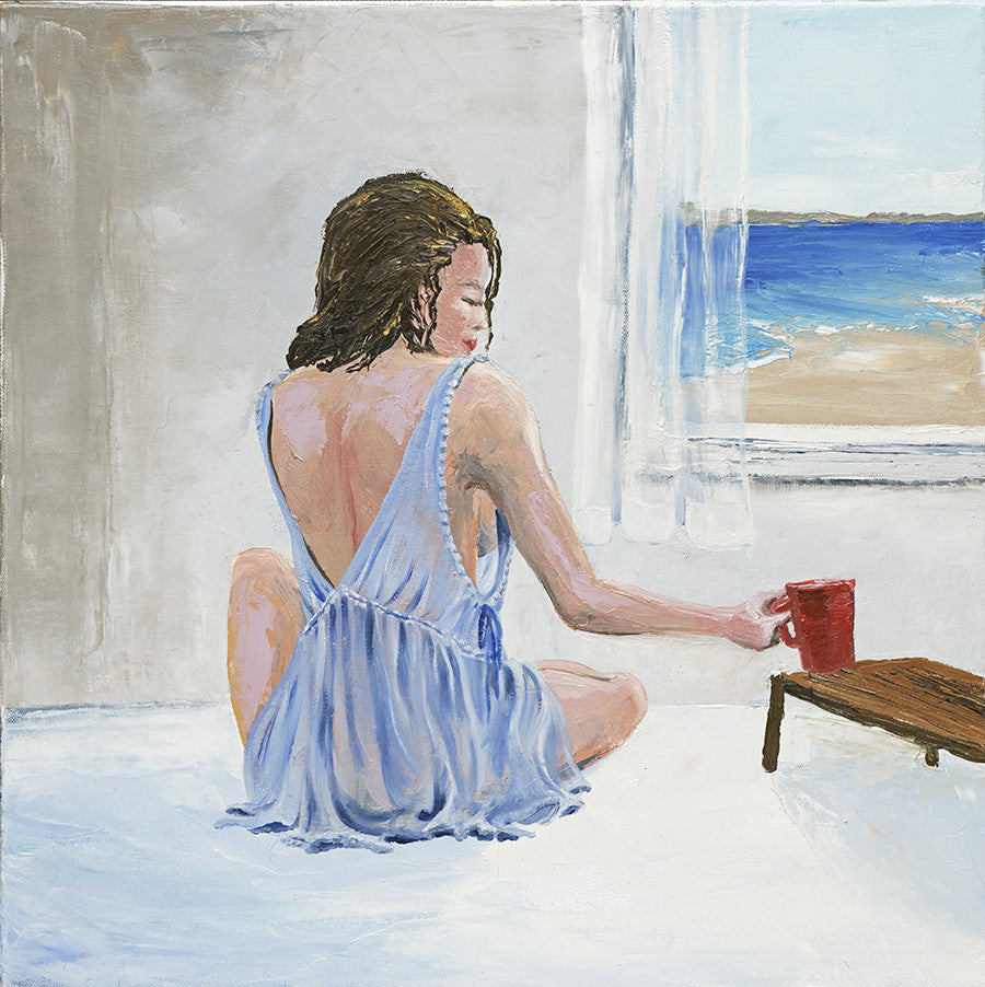 Morning Coffee - Sold