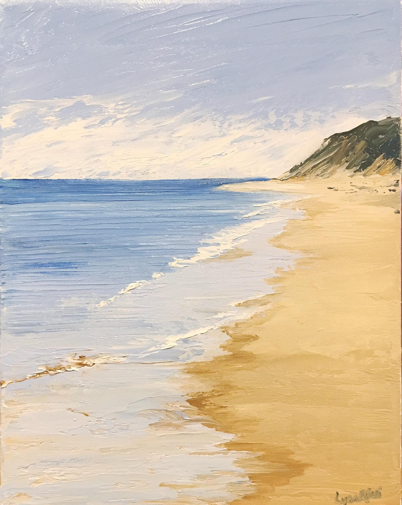Pamet Beach - Truro - Artwork of Lynn Ricci