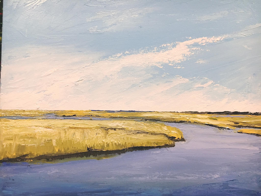 Sandwich Salt Marsh I - Artwork of Lynn Ricci