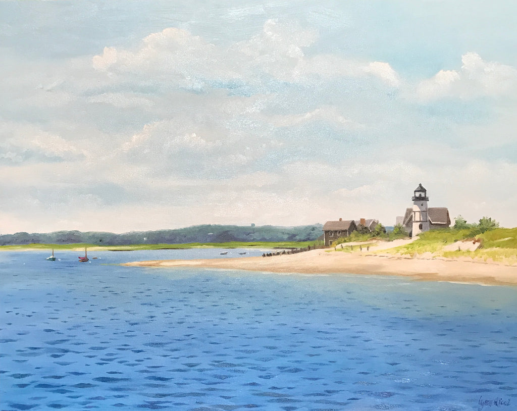 Afternoon Bliss at Sandy Neck - Artwork of Lynn Ricci
