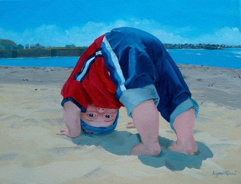 Head in the Sand - Commission - Artwork of Lynn Ricci