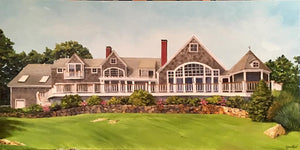 Cohasset Home - Commission - Artwork of Lynn Ricci