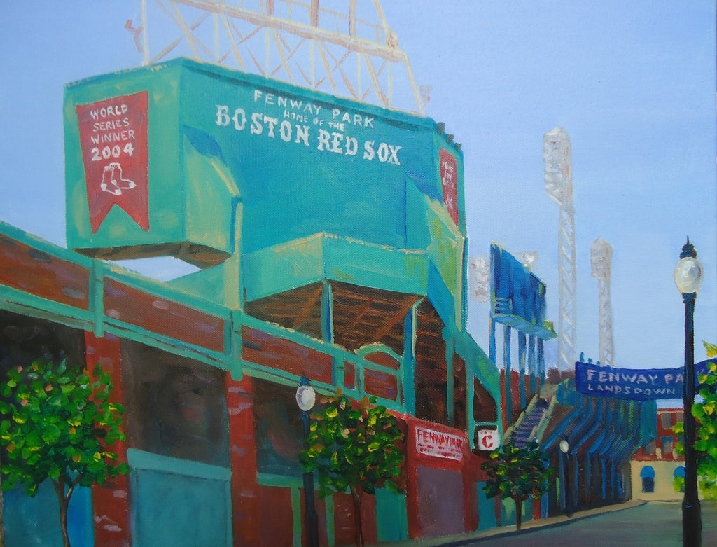 Fenway Park - Commission - Artwork of Lynn Ricci