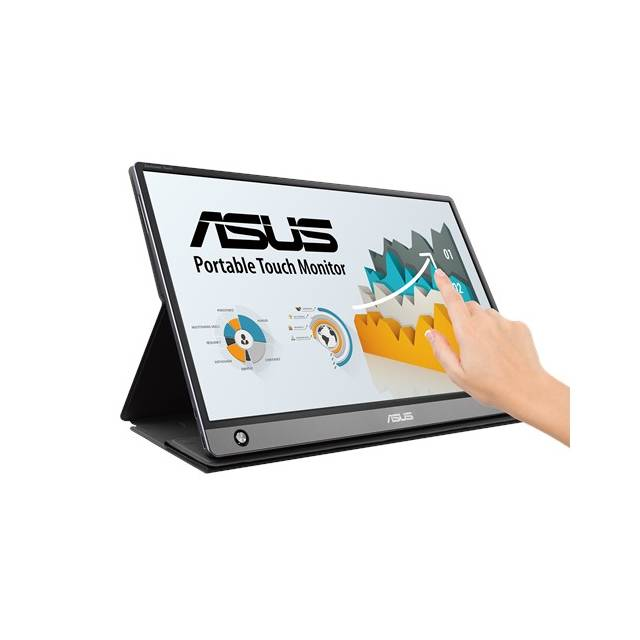 Asus MB16AMT 15.6 inch 700:1 Full HD IPS USB Type-C Portable Monitor (Dark gray)