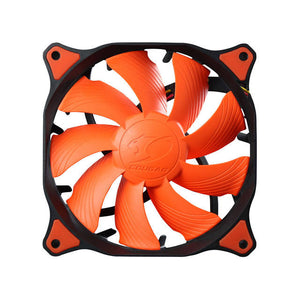 Cougar Vortex CF-V12H 120mm Hydro Dynamic Bearing (Fluid) Case Fan (Orange)