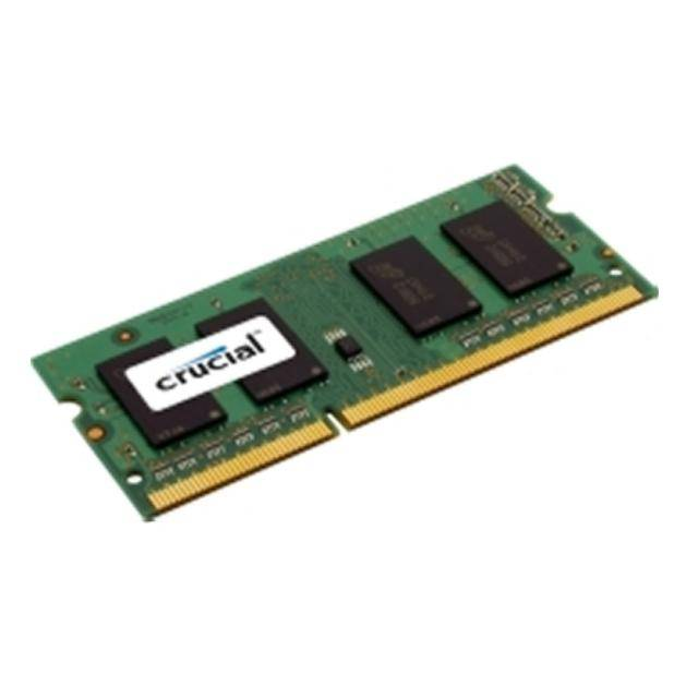 Crucial DDR3-1600 SODIMM 8GB Notebook Memory