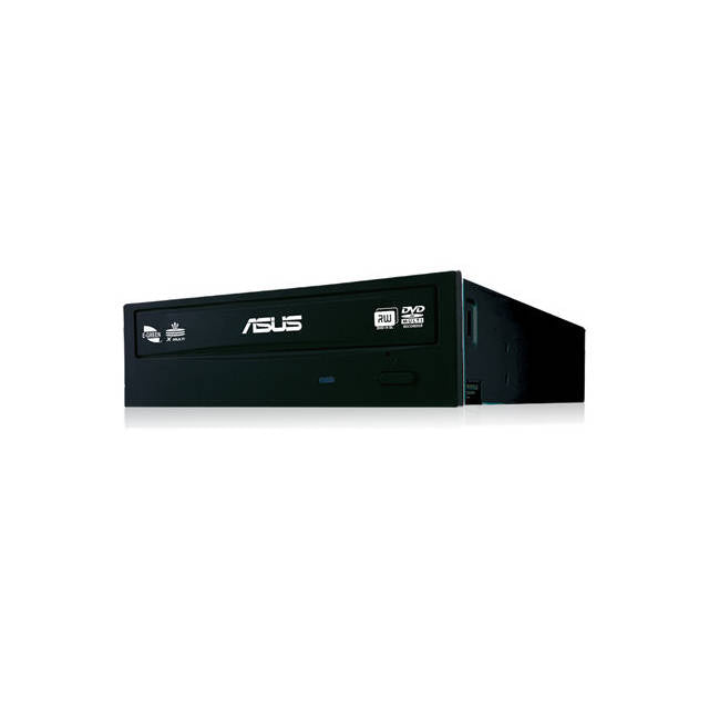 Asus DRW-24F1ST 24X SATA Internal DVD+--RW Drive w-o Software, Bulk (Black)