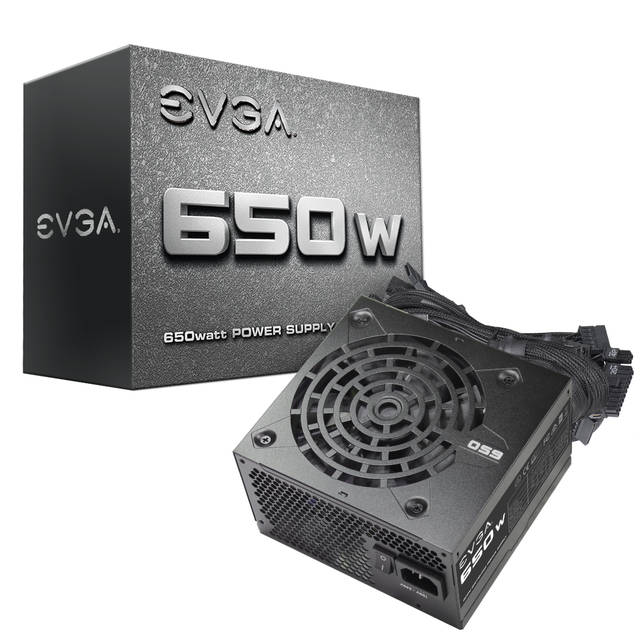 EVGA 100-N1-0650-L1 650W ATX12V & EPS12V Power Supply