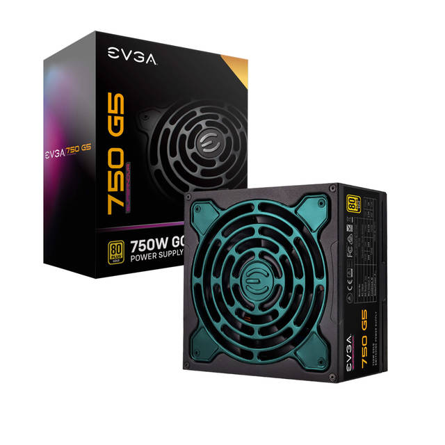 EEVGA SuperNOVA 750 G5, 80 Plus Gold 750W, Fully Modular
