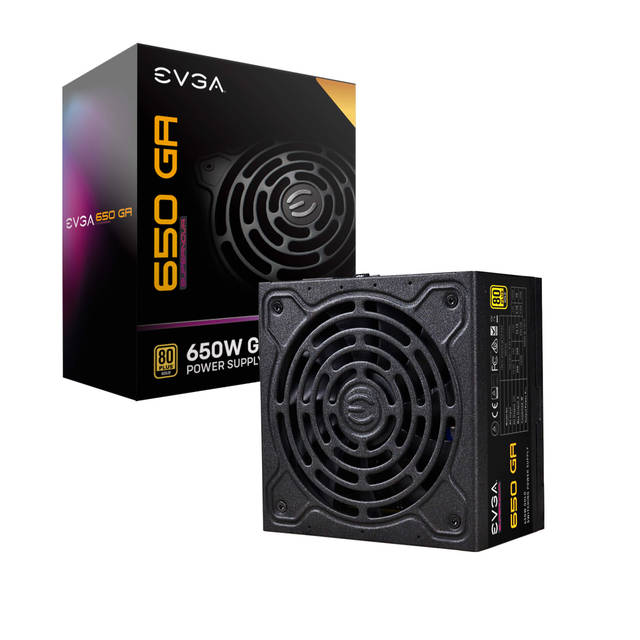 EVGA 220-GA-0650-X1 SuperNOVA 650 GA, 80 Plus Gold 650W, Fully Modular, Eco Mode with DBB Fan, 10 Year Warranty, Includes Power ON Self Tester, Compa
