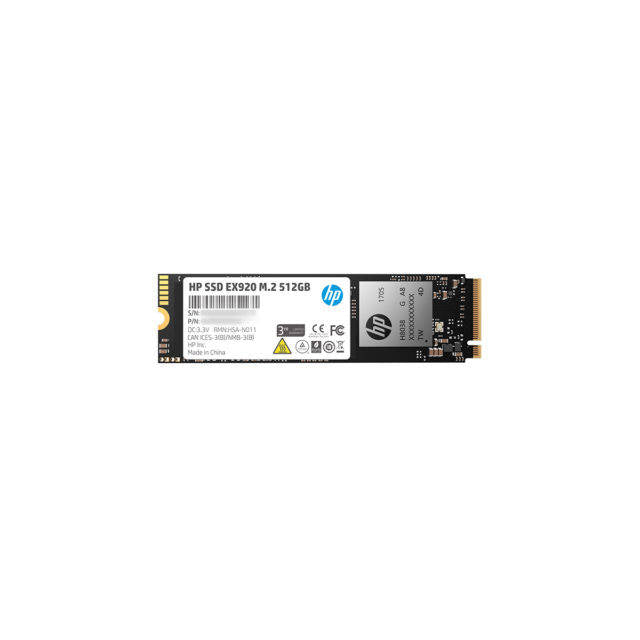 HP EX920 Series M.2 512GB PCI-Express 3.0 x4 NVMe1.3 Internal Solid State Drive