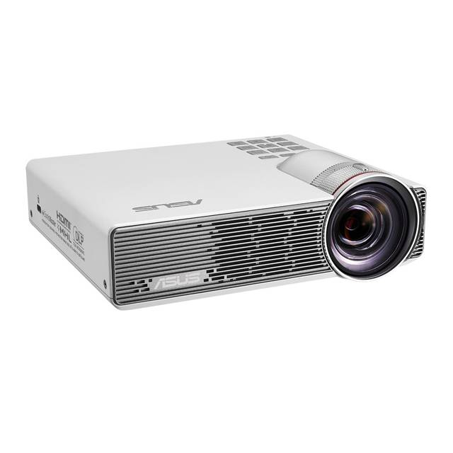 ASUS P3B 800 Lumens Battery-Powerd DLP Projector w- LED Light Source (White)