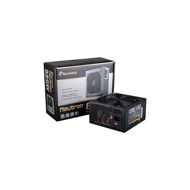 Solid Gear SDGR-850E 850W PS2 ATX12V v2.3 & EPS12V v2.91 Power Supply (Black)