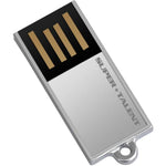 Super Talent Pico-C 32GB Silver USB 2.0 Flash Drive