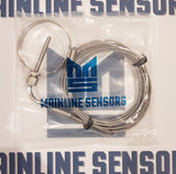 "Exhaust Gas Temperature Gauge Kit 1/8"" NPT, EGT. 2 Meter Sensor Clamp 91-114mm - Mainline Sensors"