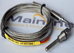 "K-Type Temperature Sensor Probe 1/8"" NPT, Exposed Tip, Exhaust Temperature. - Mainline Sensors"
