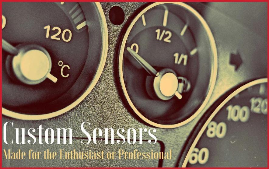 Custom temperature sensors