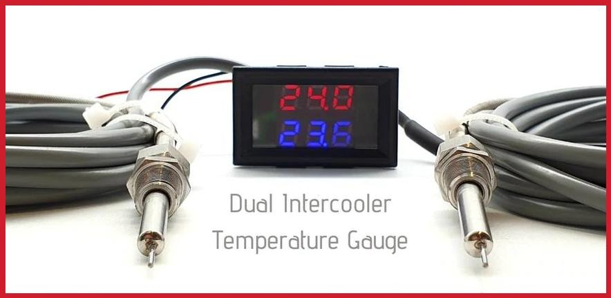 Intercooler Air Charge Temperature Gauge Kit