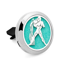 AromaBUG™ Zodiac Signs Car Vent Air Diffuser, Air Freshener includes Free Oil.