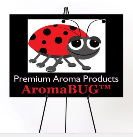 "AromaBug™ Exclusive ""Premium Grade"" Aroma Products. PATENTED and PAT. Pending"