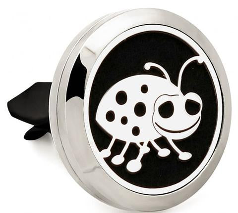 "AromaBUG™ ORIGINAL CAR VENT DIFUSSER,  (Car Difusser) (Button) (Air Vent). ""The Original"" $19.00 Over 100 Designs."