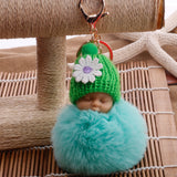 New Baby Bug™ Key Rings Doll (Soft, Cute Fluffy) Pom Pom  (Coming Soon)