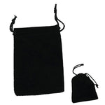 Bag: Velvet Pouch with draw strings