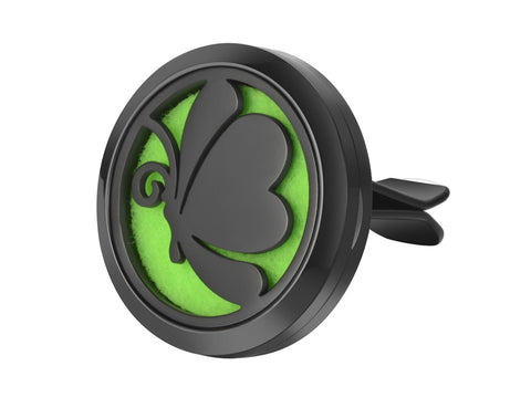 AromaBug™ Limited Edition  Premium Car Vent Air Freshener (Black Butterfly)